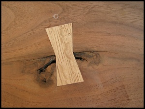 walnut bed detail 1