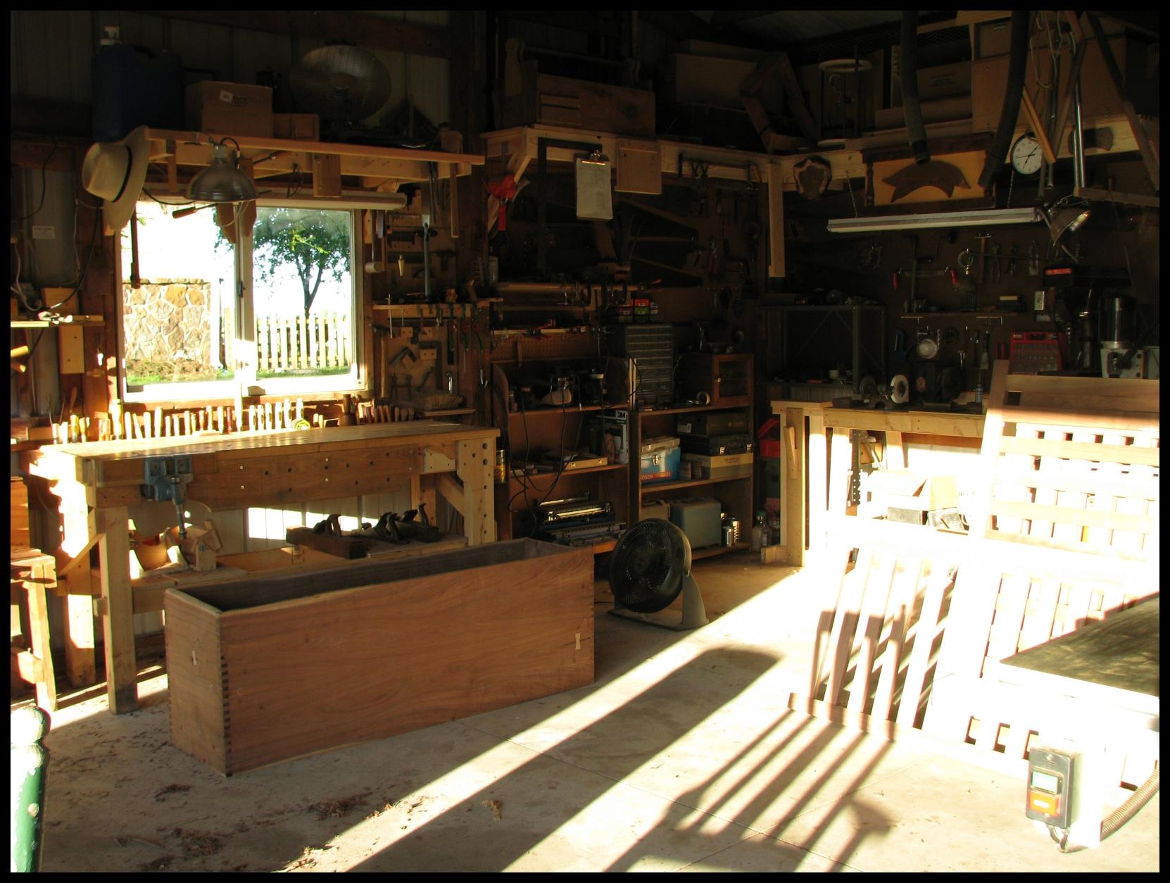 woodwork workshops