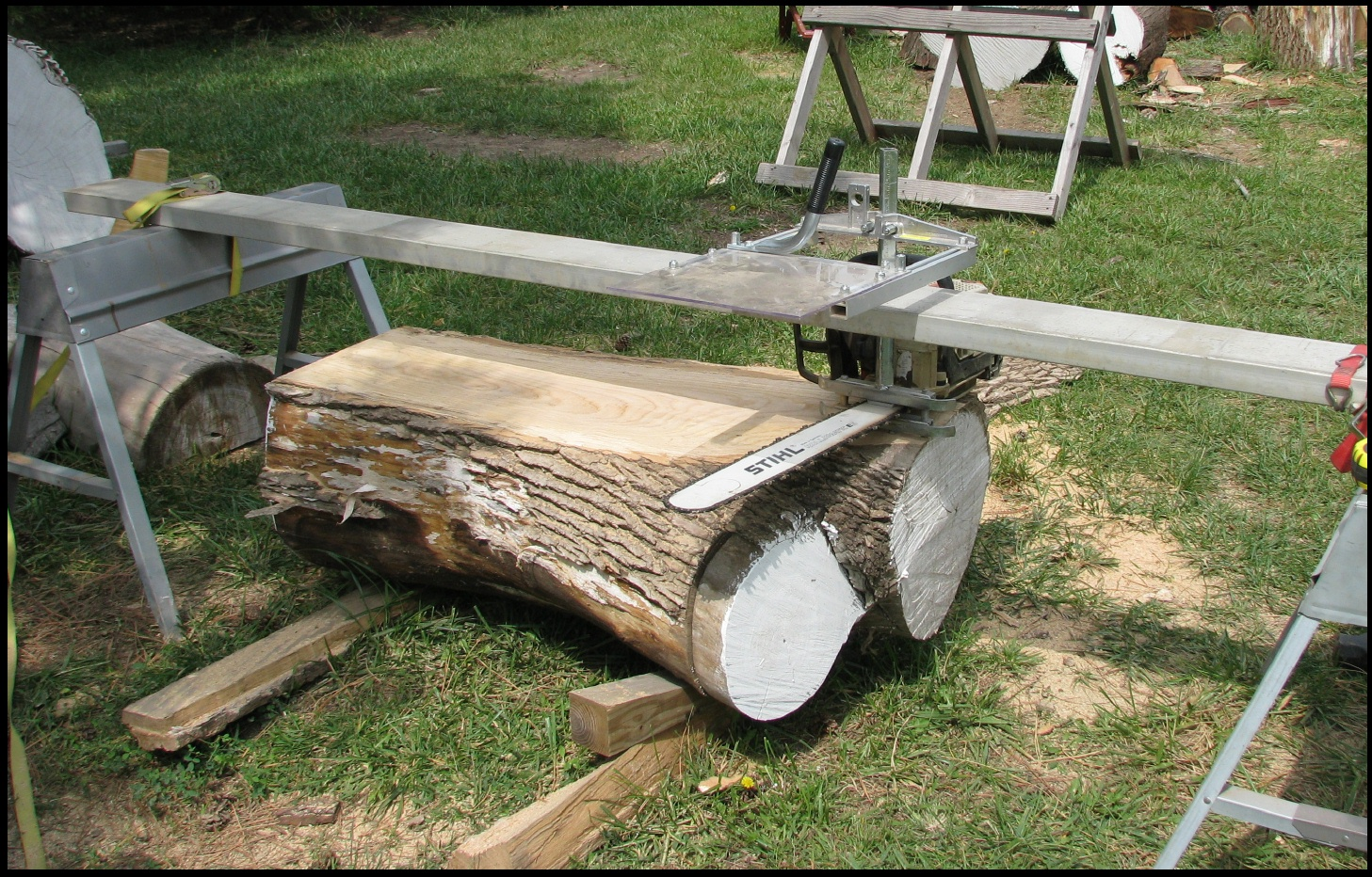 Plans for sawhorses
