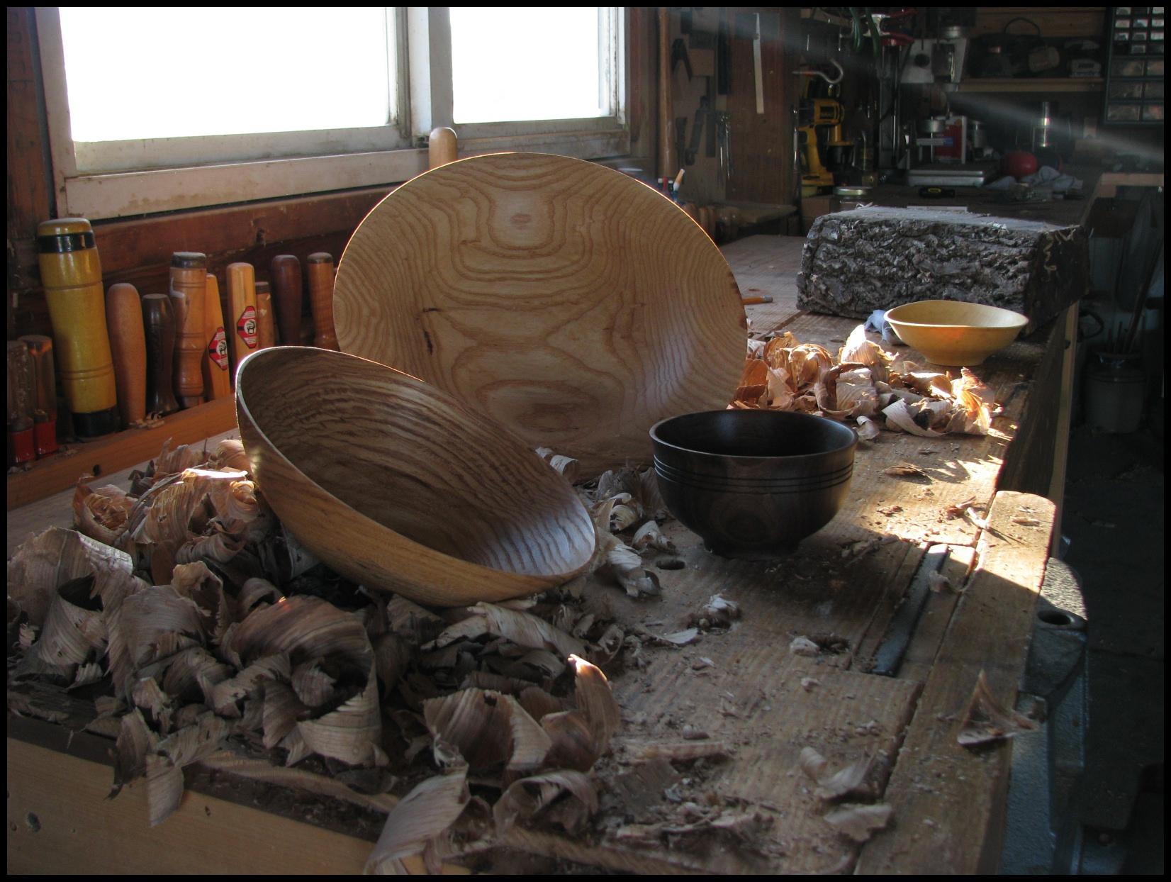 woodturning bar stool