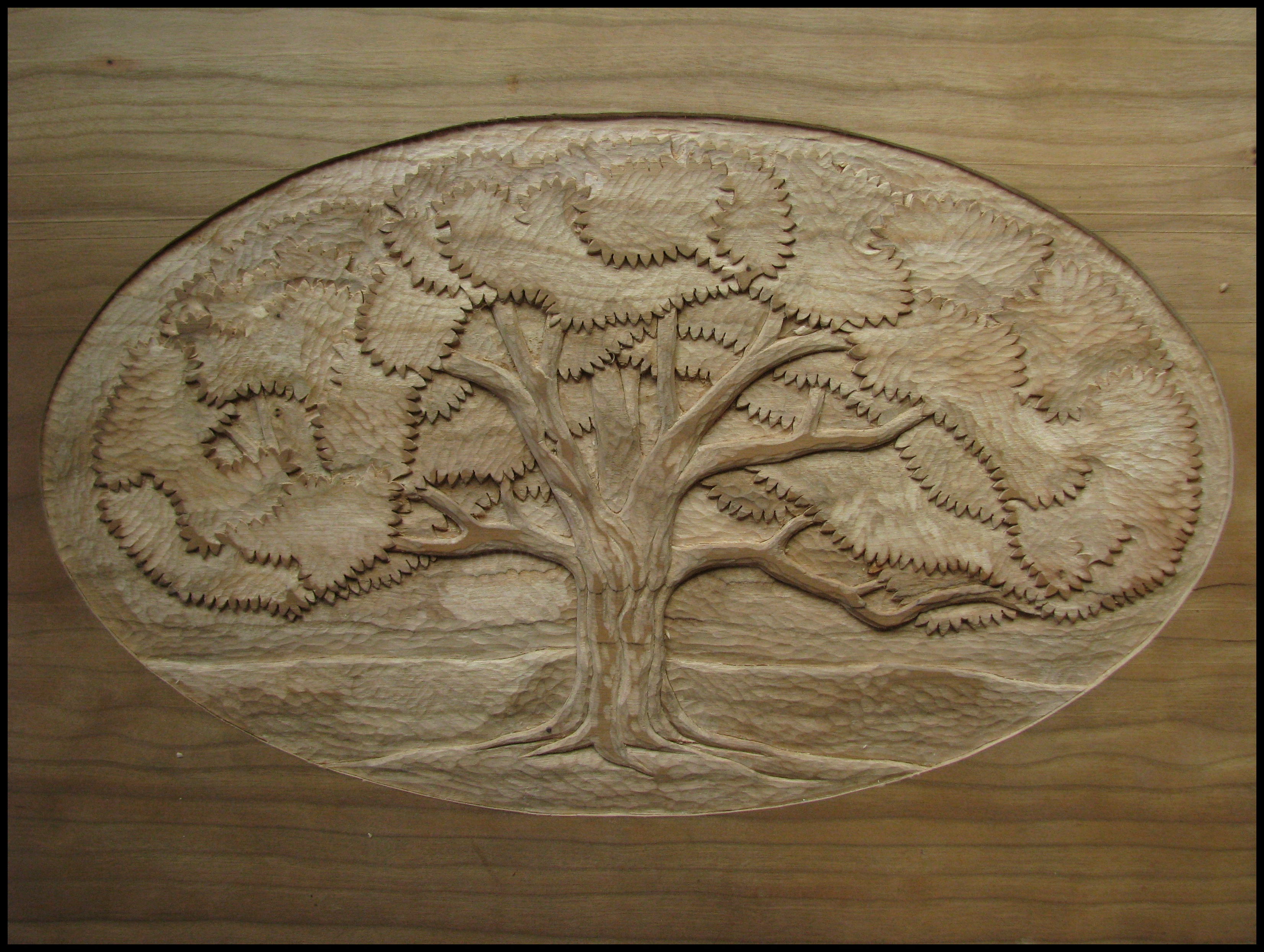 Wood Carving The School Of The Transfer Of Energy