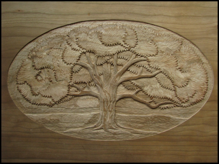 Tree carving the school of transfer energy