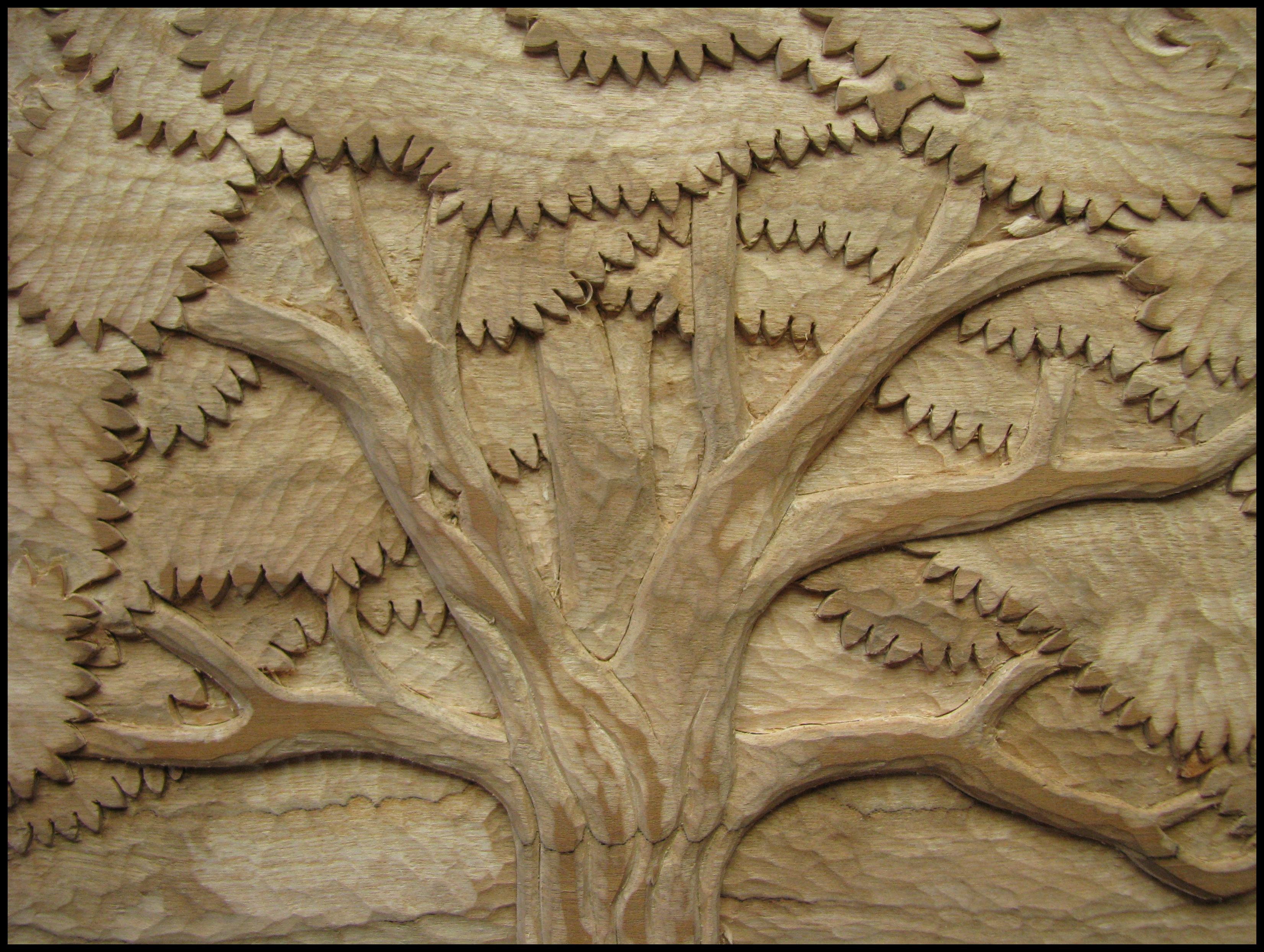 Tree Carving The School Of The Transfer Of Energy