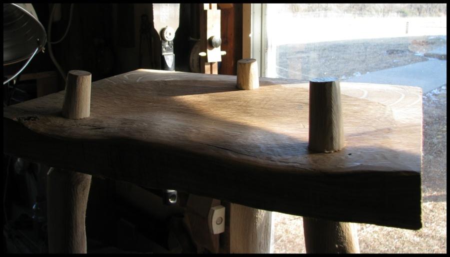Cool Fd 3 Legged Wooden Stool Plans Beatyapartments Chair Design Images Beatyapartmentscom