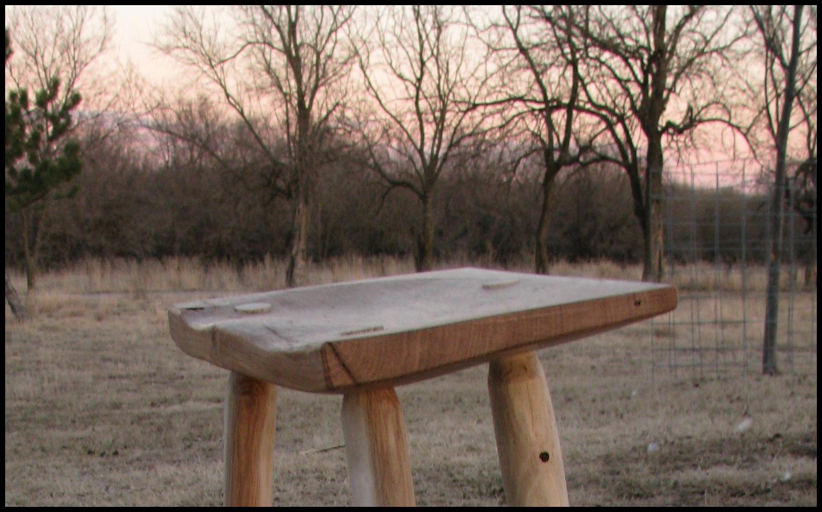 3 legged stool woodworking plans