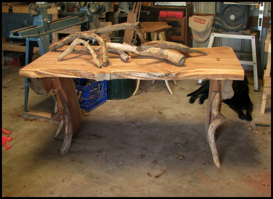 Rustic Table The School Of The Transfer Of Energy
