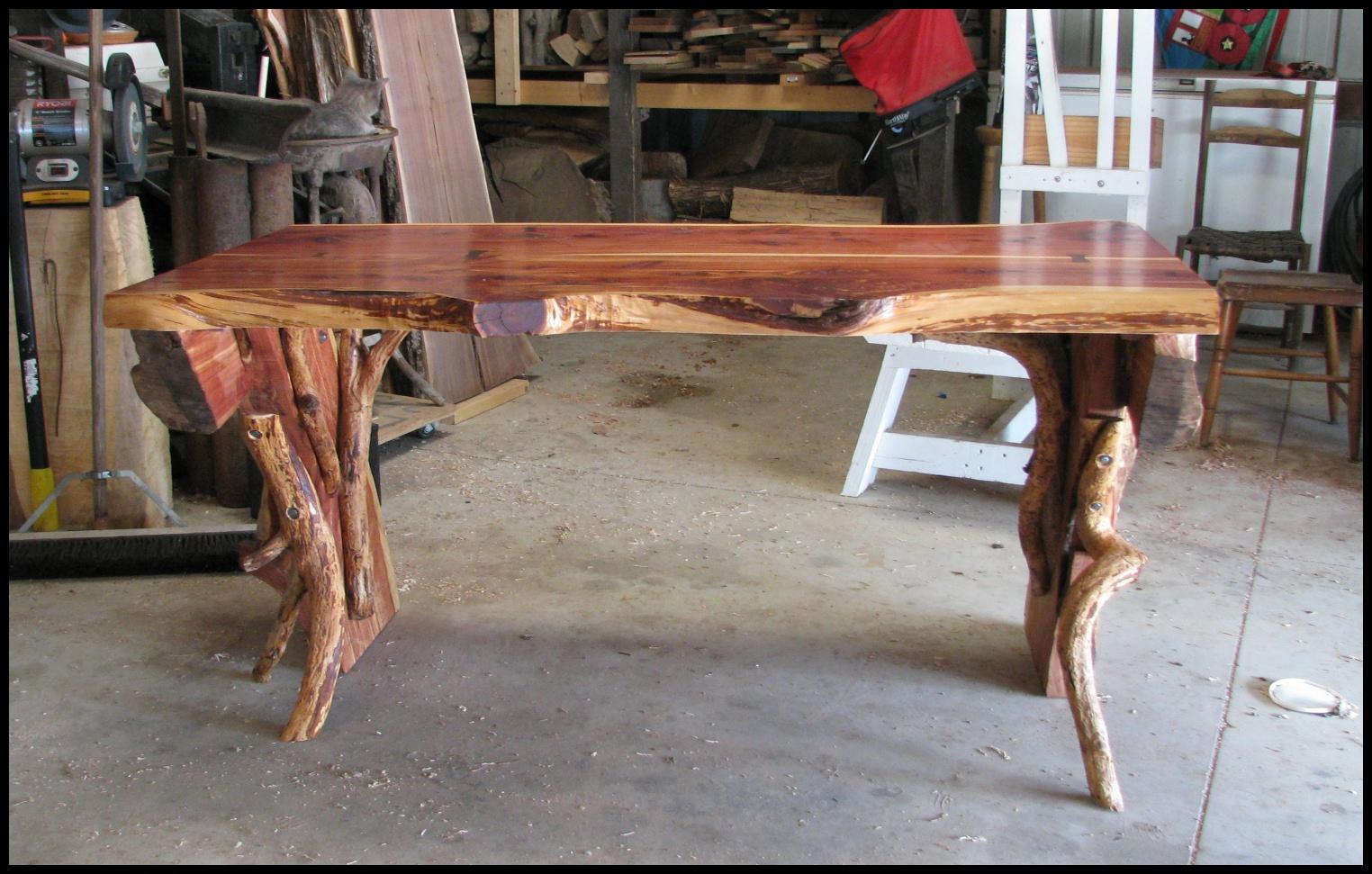 woodworking rustic furniture