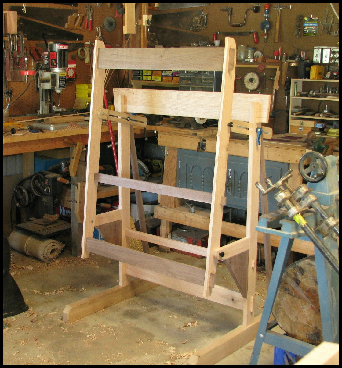 Build Plans Desktop Easel DIY PDF full size captains bed ...