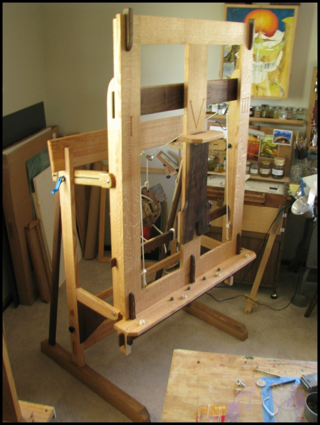 Woodworking Plans Artists Easel Plans wood burning projects furniture ...