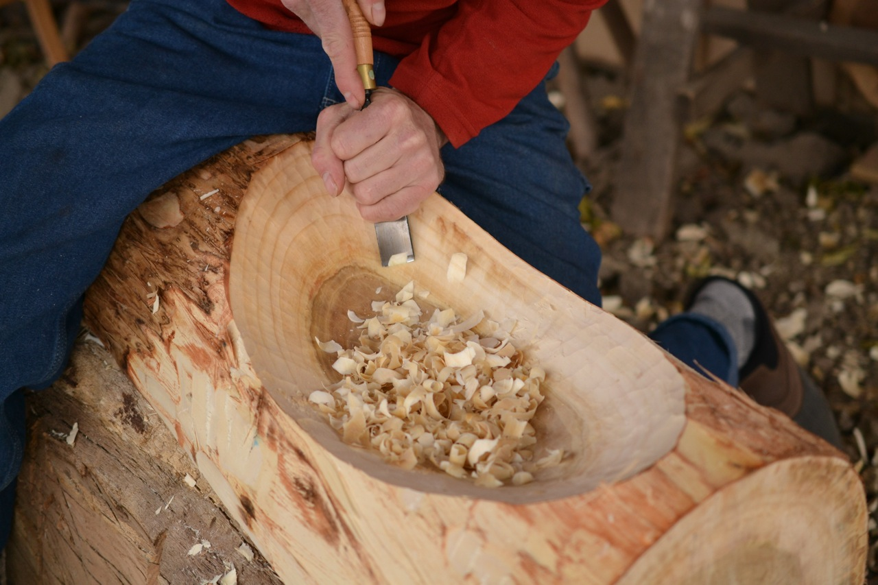 Making A Wood Bowl With Hand Tools