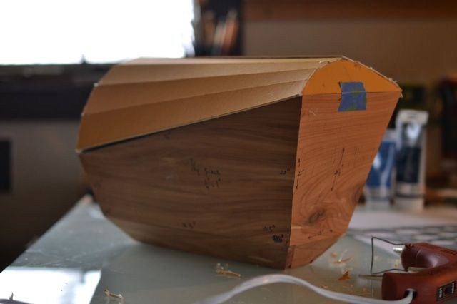"""Jonah"" Chest 1/4 scale model"