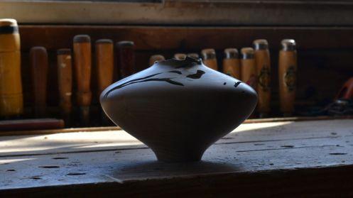 persimmon vessel shadow