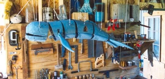 Ash Whale Marionette