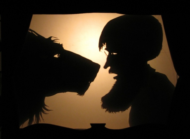 Mystichearingus Wolf and Walking Man, 2011