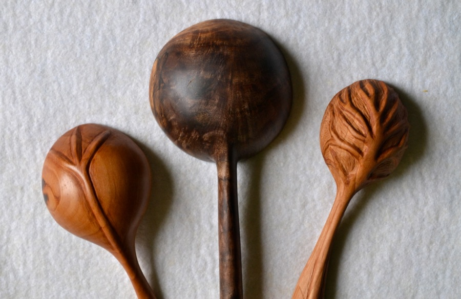Wooden spoons the school of transfer energy