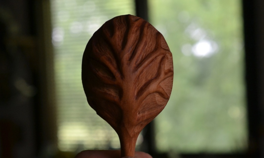 root spoon detail