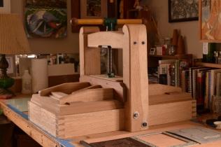 Printing Press (White Oak)
