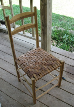 Post Oak and Hickory Chair
