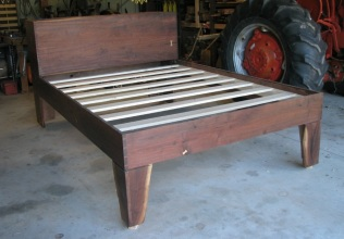 Walnut Bed