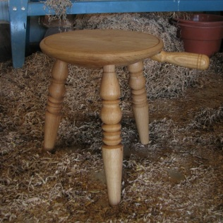Ash Milking Stool