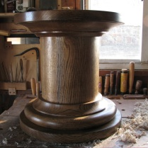 Red Oak Pedestal