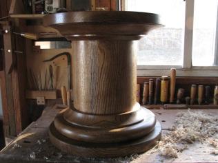 Red Oak Pedestal