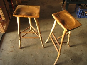 Post-Oak Stools