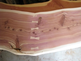 Trade Show Booth Counter (Eastern Red Cedar)