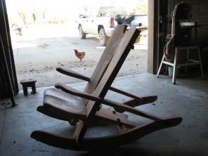 Eastern Red Cedar Rocker
