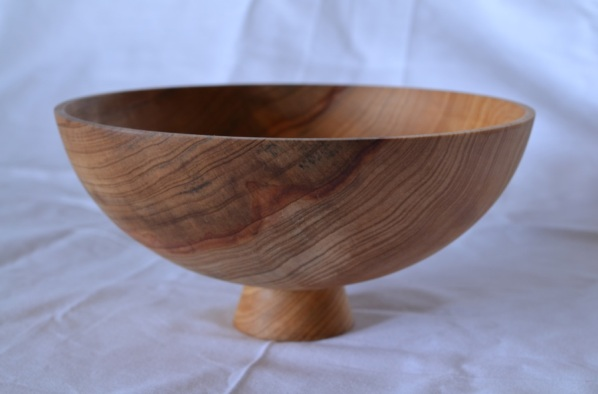 cypress footed bowl