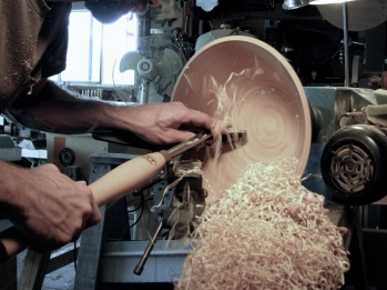hollowing a bowl