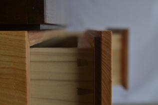 NC drawer side detail