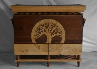 Walnut and Ash chest