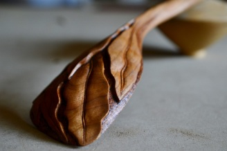 cherry wood spoon
