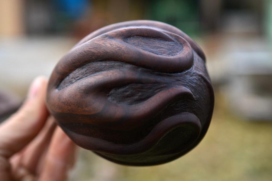 Walnut Root Ladle02
