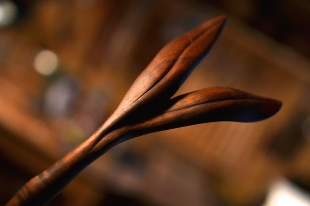 Walnut Root Ladle12
