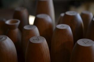 persimmon communion cups