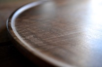 black walnut platter
